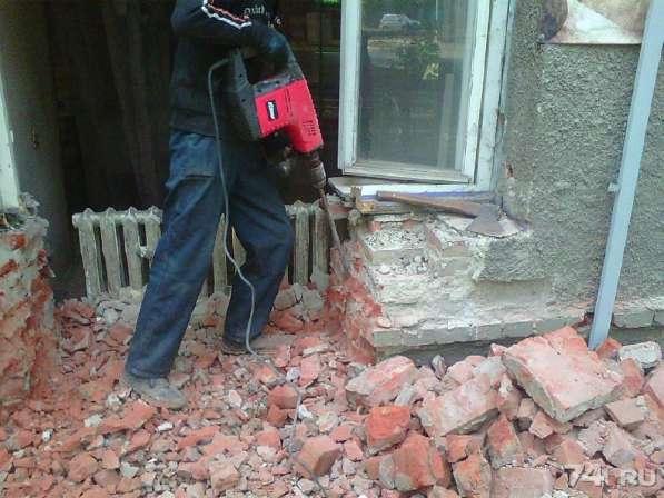 Снос и демонтаж кирпичных зданий и сооружений в Москве