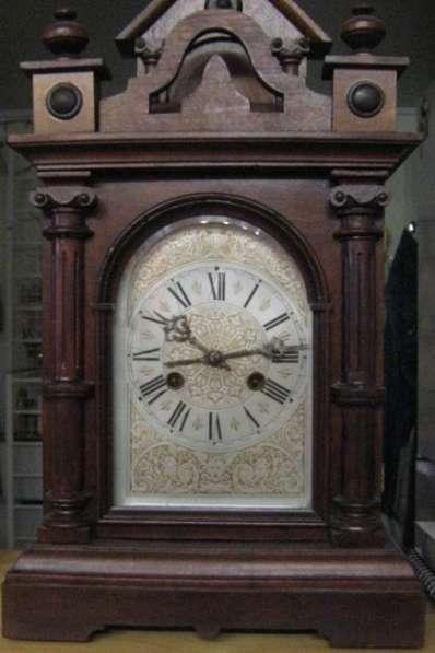 Каминные(настольные)часы Филлип Хаас.19 век