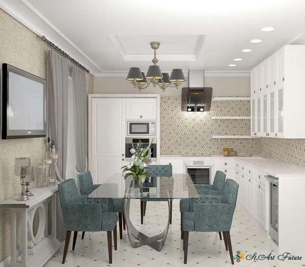 Дизайн интерьера комнаты, квартиры, дома. Уникальный стиль в Краснодаре фото 5