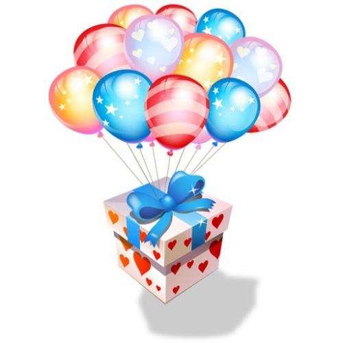 Доставка воздушных шаров по городу и области