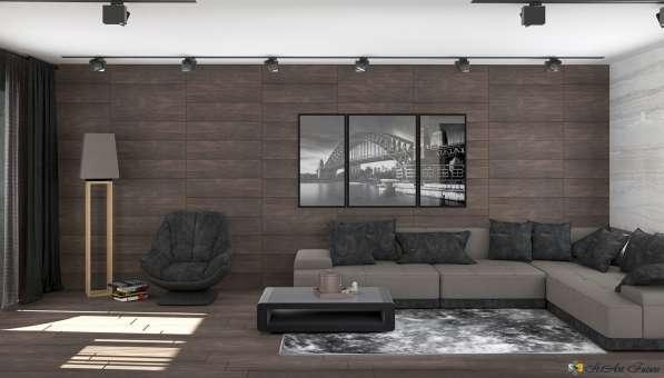 Дизайн интерьера комнаты, квартиры, дома. Уникальный стиль в Краснодаре фото 12