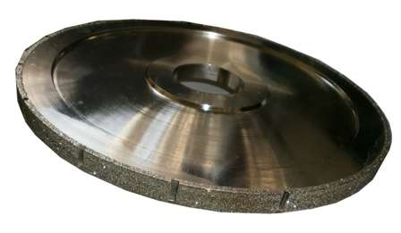 Фреза HXDW003 Electroplated канелюрная профиль Z d300хh15х60мм grit 30/40