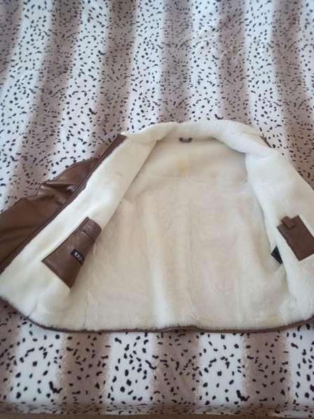 Кожанная куртка на меху в Югорске фото 5