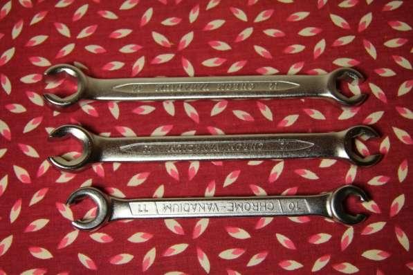 Продам комплект разрезных гаечных ключей для тормозов