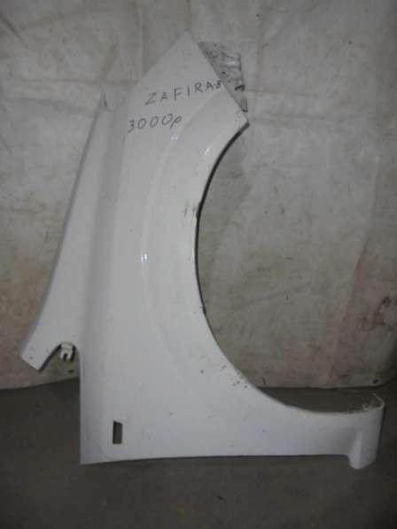 крыло на Зафиру Б