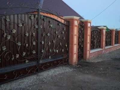Навесы, ворота, перила, решетки
