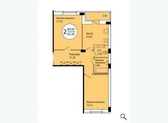 Продается 2-комн. квартира(Лыткарино,Колхозная д.6 корп.1) в Лыткарино