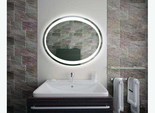 Зеркало с подсветкой для ванной. Доставка в любой город в Нижнем Новгороде фото 3