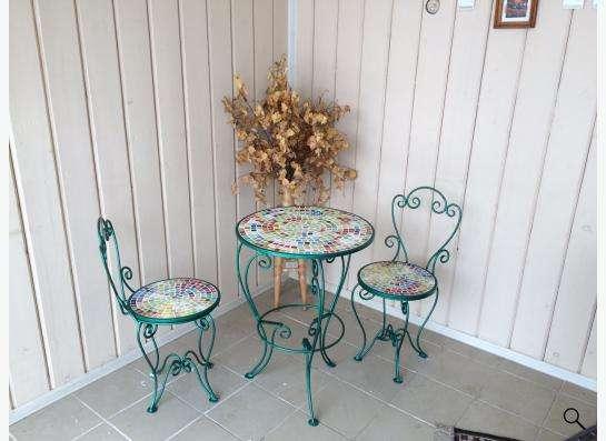 Мебель кованная мансардная садовая в Новосибирске фото 3