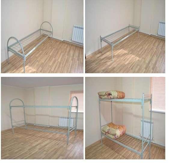 Металлические кровати эконом-класса, мебель и комплекты