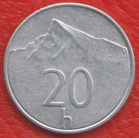 Словакия 20 геллеров 1994 г.