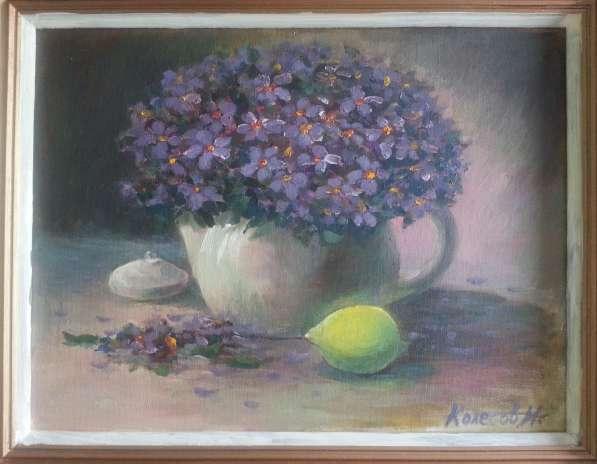 """Картина """"Букет в чайнике"""""""