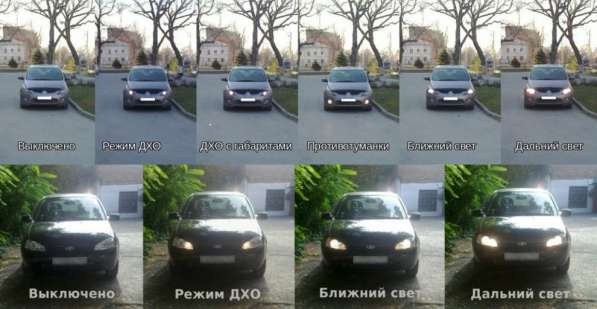 Реле дневных ходовых огней автомобиля (контроллер)