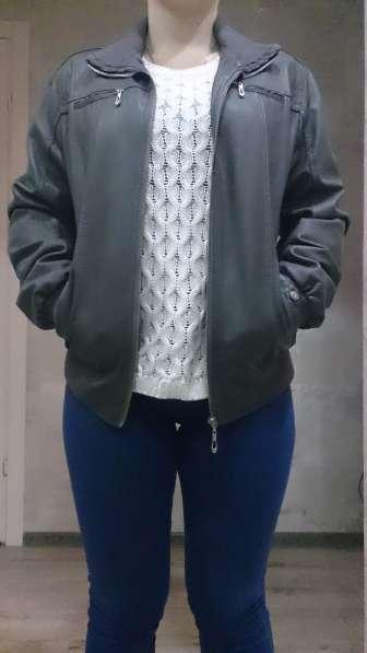 Кожаная куртка 46р-р