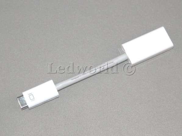 Переходник Mini DVI - hdmi для Mac