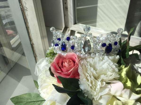 Корона-тиара ручной работы в Новосибирске