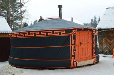 Юрта Монгольского типа