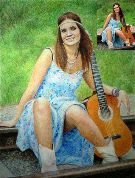 Портрет по фото и другие картины, в подарок на праздник в Новосибирске