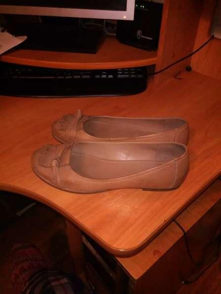 Туфли- Мокасины Экко из натуральной кожи 41р