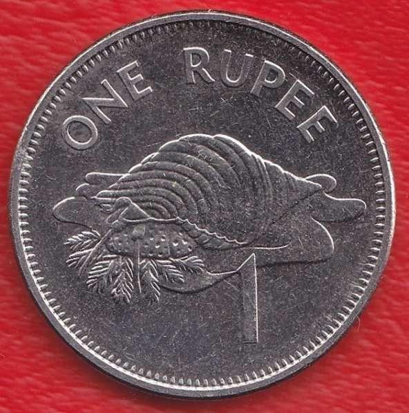 Сейшельские острова 1 рупия 2010 г. магнитная Сейшелы