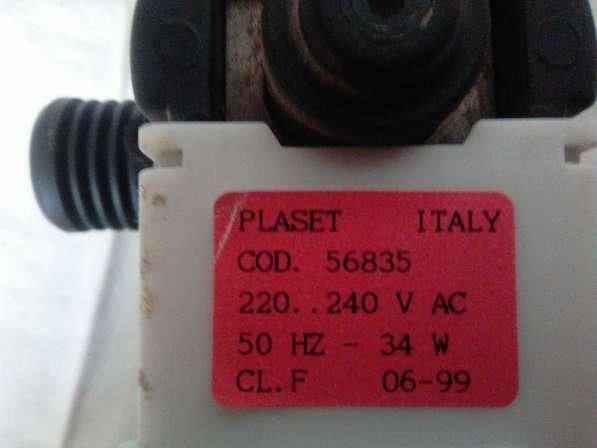 Indesit Plaset Cod. 56835 помпа для стиральной машины в фото 4