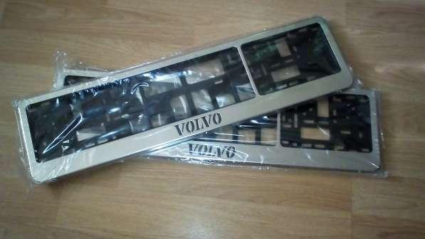 Антивандальные рамки для номеров Volvo