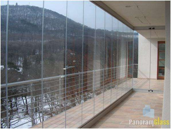 Раздвижные системы безрамное остекление PanoramGlass