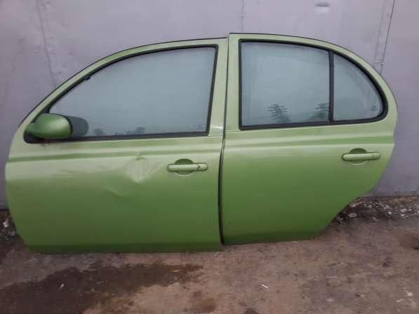 Двери левые в сборе Nissan Micra K12