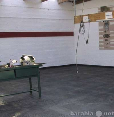 Резиновая плитка для пола в бокс и гараж Трансформер