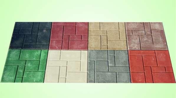 Плитка садовая полимерпесчаная 250*250*25мм
