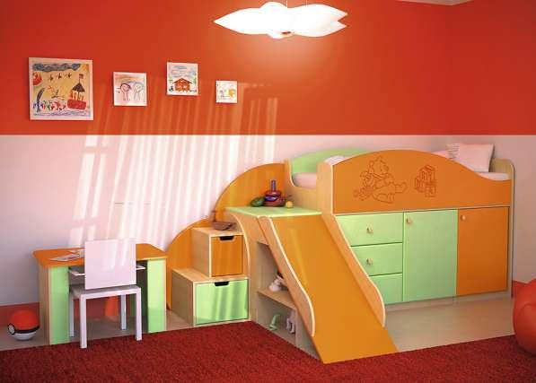 Детская мебель с горкой