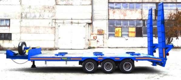 Прицеп 18 тонн для спецтехники к самосвалу