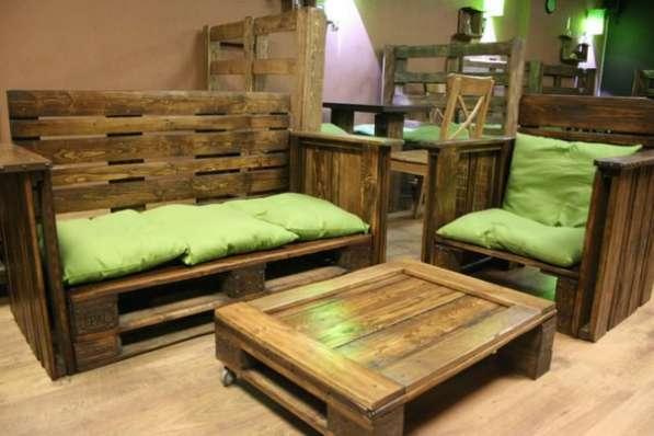 Мебели из поддонов на заказ