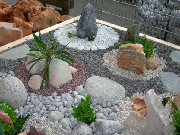 Дикий природный камень для ландшафта