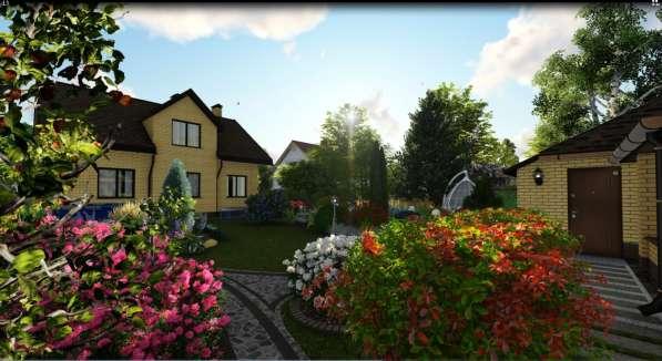 Ландшафтный дизайн в фото 4