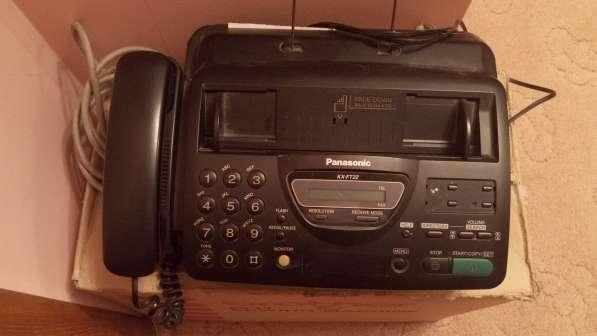 Факсовый аппарат с доп. тел. трубкой