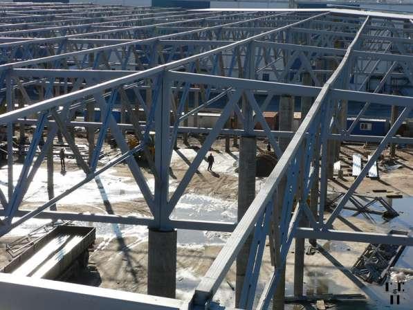 Производство и монтаж металлоконструкций