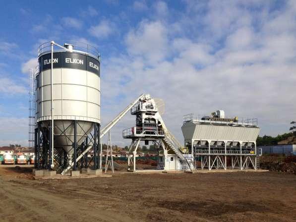 Компактные бетонные заводы
