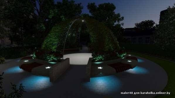 Ландшафтный дизайн в фото 3