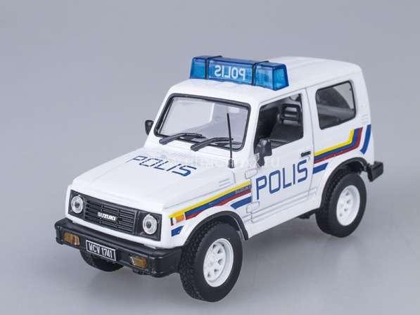 Полицейские машины мира №33 SUZUKI SAMURAI полиция малайзии