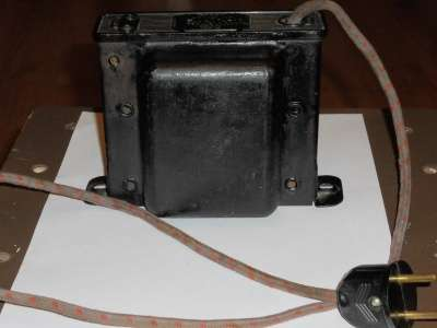 Трансформатор 220в.х120в. МГСНХ Тип ЛОСХ-03 гост 7518-55