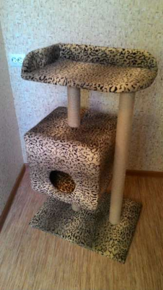 Домик когтеточка для кошки.