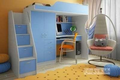 ФК 4 СВ кровать – чердак со столом цвет