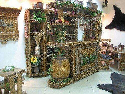 Деревянная мебель под старину для кафе, баров и ресторанов