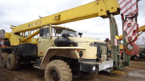 Автокран челябинец кс 45721 урал,25 тонн, 2004 г/в