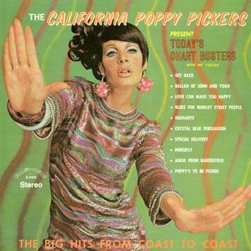 Пластинка California Poppy Pickers - Today s Chart Busters