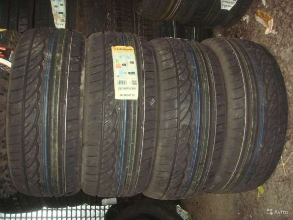Новые 245/40 R18 Sport 01x ROF шины dunlop