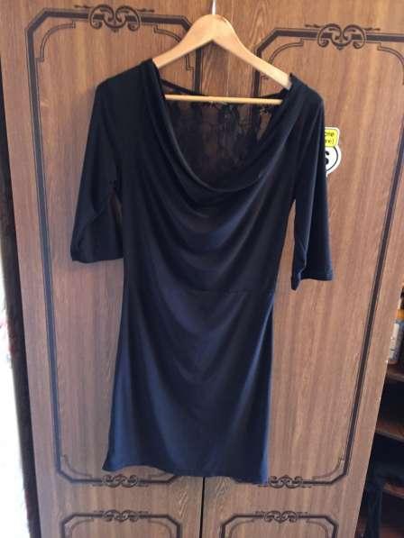 Платье мини большого размера