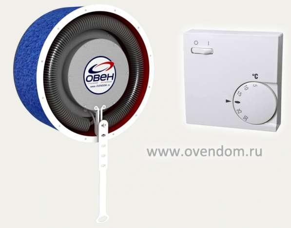 Клапан приточной вентиляции Овен с подогревом