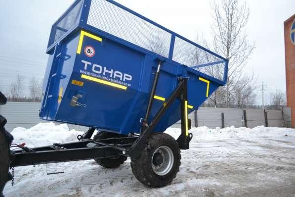 Прицеп тракторный Тонар ПТС-9 в Москве фото 4